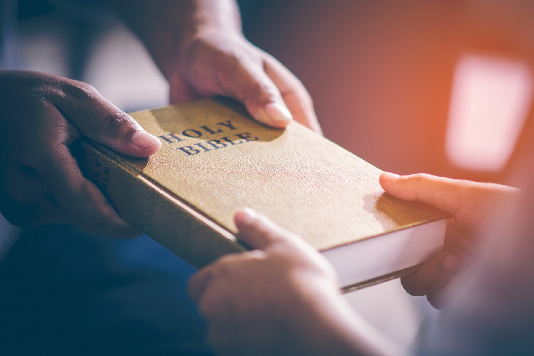 Sharing God's Word As Commanded